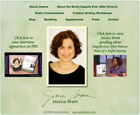 Website of Jessica Bram